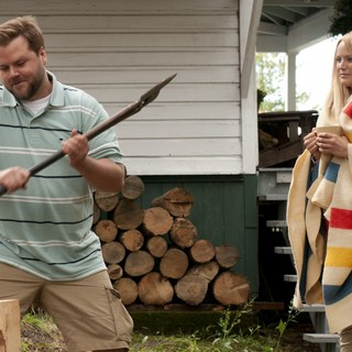 Tyler Labine stars as Todd Chipowski and Malin Akerman stars as Cammie Ryan in Phase 4 Films' Cottage Country (2014) - cottage-country01