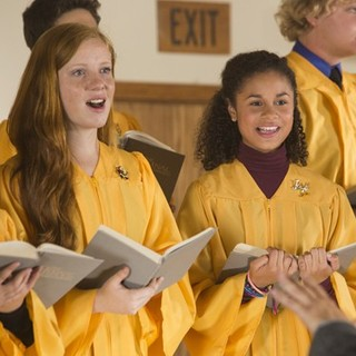 Desiree Ross stars as Grace in Lifetime's A Country Christmas Story (2013)