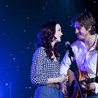 Country Strong - Garrett Hedlund stars as Beau Hutton and Leighton Meester stars as Chiles Stanton in Screen Gems's Country Strong (2010)