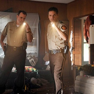 Alex Kendrick stars as Adam Mitchell and Kevin Downes stars as Shane Fuller in TriStar's Courageous (2011)