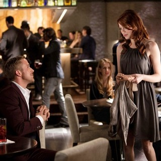 Ryan Gosling stars as Jacob Palmer and Emma Stone stars as Hannah in Warner Bros. Pictures' Crazy, Stupid, Love. (2011) - crazy-stupid-love-still03