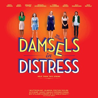 Poster of Sony Pictures Classics' Damsels in Distress (2012)