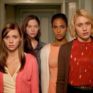 Carrie MacLemore, Analeigh Tipton, Megalyn Echikunwoke and Greta Gerwig in Sony Pictures Classics' Damsels in Distress (2012)