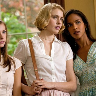 Carrie MacLemore, Greta Gerwig and Megalyn Echikunwoke in Sony Pictures Classics' Damsels in Distress (2012)