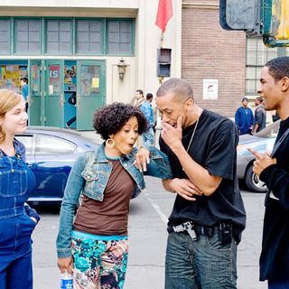 Shoshana Bush, Essence Atkins, Affion Crockett and Damon Wayans Jr. in Paramount Pictures' Dance Flick (2009) - dance_flick02