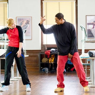 Shoshana Bush stars as Megan and Damon Wayans Jr. stars as Thomas in Paramount Pictures' Dance Flick (2009) - dance_flick04