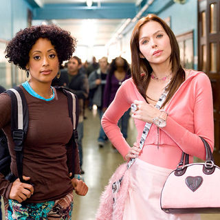 Essence Atkins stars as Charity and Christina Murphy stars as Nora in Paramount Pictures' Dance Flick (2009)