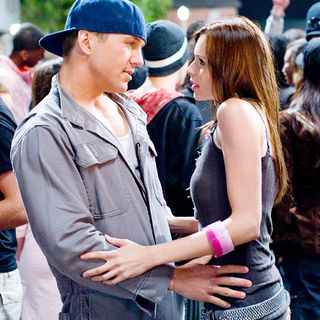 Ross Thomas stars as Tyler and Christina Murphy stars as Nora in Paramount Pictures' Dance Flick (2009)