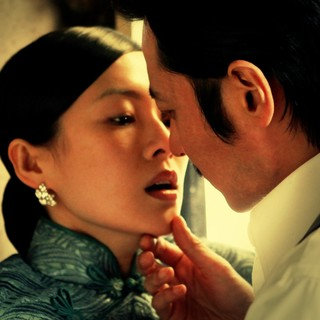 Zhang Ziyi and Jang Dong Gun in Well Go USA's Dangerous Liaisons (2012)