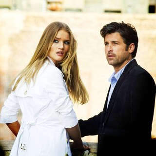 Rosie Huntington-Whiteley stars as Carly and Patrick Dempsey stars as Dylan Gould in DreamWorks SKG's Transformers: Dark of the Moon (2011). Photo credit by Robert Zuckerman.