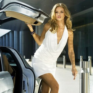 Transformers: Dark of the Moon - Rosie Huntington-Whiteley stars as Carly in DreamWorks SKG's Transformers: Dark of the Moon (2011)