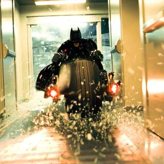 Dark Knight, The - CHRISTIAN BALE stars as Bruce Wayne in Warner Bros. Pictures' and Legendary Pictures' action drama