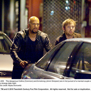 Common and Jimmi Simpson (Armstrong) in 20th Century Fox's Date Night (2010). Photo credit by Myles Aronowitz. - date_night13
