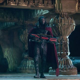 Omar Sy stars as Bishop in 20th Century Fox's X-Men: Days of Future Past (2014)