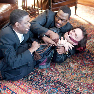 Chris Rock, Martin Lawrence and Peter Dinklage in Screen Gems' Death at a Funeral (2010)