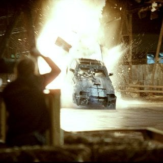 Death Race - A scene from an action-thriller set of Universal Pictures' Death Race (2008)