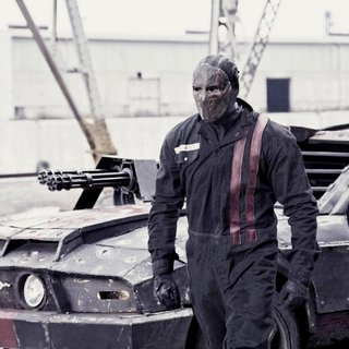 Death Race - Jason Statham stars as Jensen Ames in Universal Pictures' Death Race (2008)