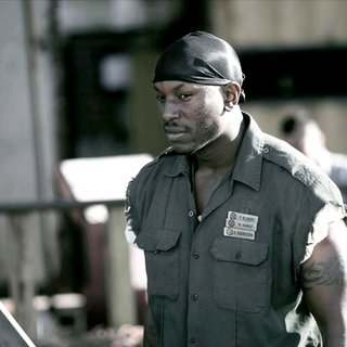 Death Race - Tyrese Gibson stars as Machine-Gun Joe in Universal Pictures' Death Race (2008)