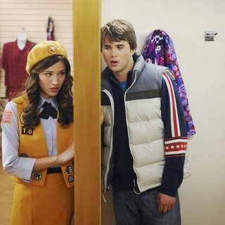 Kelsey Chow stras as Matisse and Hutch Dano in Disney Channel's Den Brother (2010) - den_brother03
