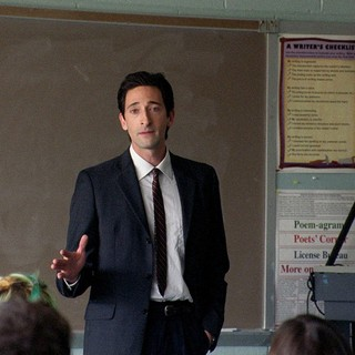 Adrien Brody stars as Henry Barthes in Tribeca Films' Detachment (2012). Photo credit by Tony Kaye.