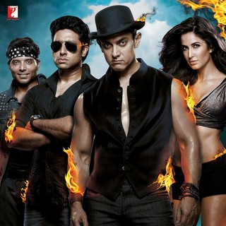 Poster of Yash Raj Films' Dhoom 3 (2013)