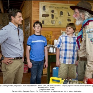 Steve Zahn, Zachary Gordon, Robert Capron and Frank C. Turner in The 20th Century Fox's Diary of a Wimpy Kid: Dog Days (2012). Photo credit by Diyah Pera. - diary-a-wimpy-kid-dog-days03