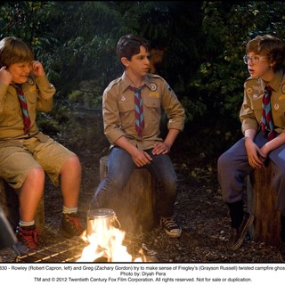 Robert Capron, Zachary Gordon and Grayson Russell in The 20th Century Fox's Diary of a Wimpy Kid: Dog Days (2012). Photo credit by Diyah Pera. - diary-a-wimpy-kid-dog-days06