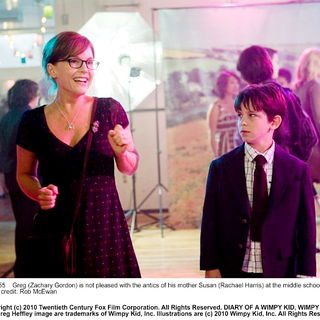 Rachael Harris stars as Susan and Zachary Gordon stars as Greg in 20th Century Fox's Diary of a Wimpy Kid (2010). Photo credit by Rob McEwan. - diary_of_a_wimpy_kid06