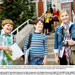 Robert Capron, Zachary Gordon and Chloe Moretz in 20th Century Fox's Diary of a Wimpy Kid (2010). Photo credit by Rob McEwan. - diary_of_a_wimpy_kid07