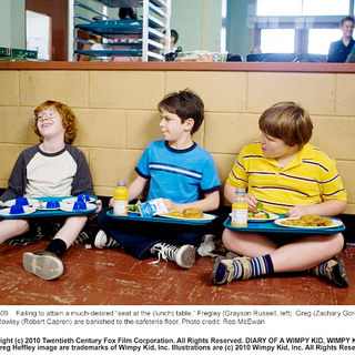 Grayson Russell, Zachary Gordon and Robert Capron in 20th Century Fox's Diary of a Wimpy Kid (2010). Photo credit by Rob McEwan. - diary_of_a_wimpy_kid08