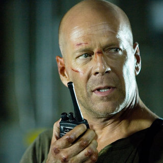 Live Free or Die Hard - Bruce Wilis as John McClane in The 20th Century Fox's Live Free or Die Hard (2007)