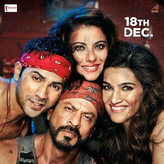 Poster of Red Chillies Entertainment's Dilwale (2015) - dilwale-poster02