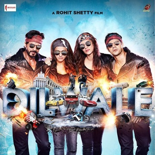 Poster of Red Chillies Entertainment's Dilwale (2015) - dilwale-poster03