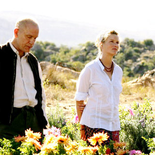 John Malkovich stars as David Lurie and Jessica Haines stars as Lucy in A Paladin Release's Disgrace (2009)