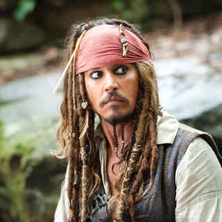 Johnny Depp stars as Jack Sparrow in Walt Disney Pictures' Pirates of the Caribbean: On Stranger Tides (2011)