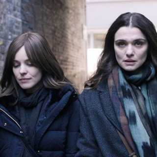 Rachel McAdams stars as Esti Kuperman and Rachel Weisz stars as Ronit Krushka in Bleecker Street Media's Disobedience (2018)