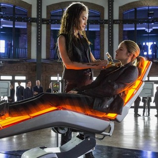 Maggie Q stars as Tori and Shailene Woodley stars as Beatrice Prior/Tris in Summit Entertainment's Divergent (2014)