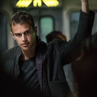 Theo James stars as Four in Summit Entertainment's Divergent (2014)