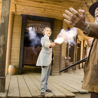 Django Unchained - Christoph Waltz stars as Dr. King Schultz in The Weinstein Company's Django Unchained (2012)