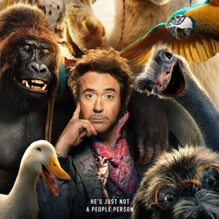 Poster of Universal Pictures' Dolittle (2020)