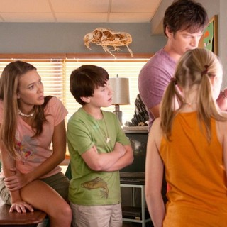 Austin Highsmith, Nathan Gamble, Harry Connick Jr. and Cozi Zuehlsdorff in Warner Bros. Pictures' Dolphin Tale (2011)