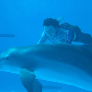Nathan Gamble stars as Sawyer Nelson in Warner Bros. Pictures' Dolphin Tale (2011)