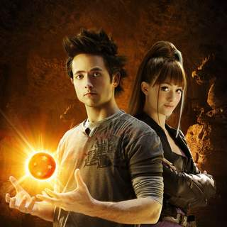 Dragonball Evolution - Justin Chatwin stars as Goku and Emmy Rossum stars as Bulma in The 20th Century Fox Pictures' Dragonball Evolution (2009)
