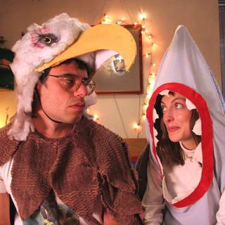 Jemaine Clement as Jarrod and Loren Horsley as Lily in Miramax Films' Eagle vs Shark (2007) - eagle_vs_shark1