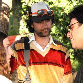 Jemaine Clement as Jarrod and Loren Horsley as Lily in Miramax Films' Eagle vs Shark (2007) - eagle_vs_shark4