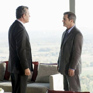 Danny Huston stars as Bennett and Mel Gibson stars as Thomas Craven in Warner Bros. Pictures' Edge of Darkness (2010) - edge_of_darkness21