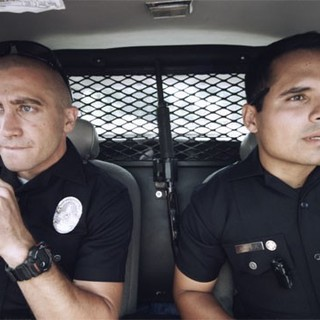 End of Watch - Jake Gyllenhaal stars as Officer Taylor and Michael Pena stars as Officer Zavala in Open Road Films' End of Watch (2012)