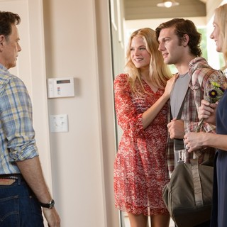 Bruce Greenwood, Gabriella Wilde, Alex Pettyfer and Joely Richardson in Universal Pictures' Endless Love (2014)