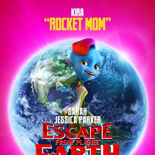 Poster of The Weinstein Company's Escape from Planet Earth (2013)