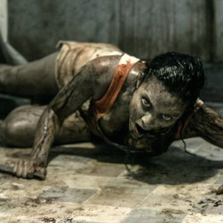 Evil Dead - Jessica Lucas stars as Olivia in TriStar Pictures' Evil Dead (2013)